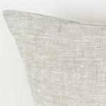 European pillow case Euro shams Linen throw pillow Beige linen pillow Decorative linen cushion case Eco friendly linen 3
