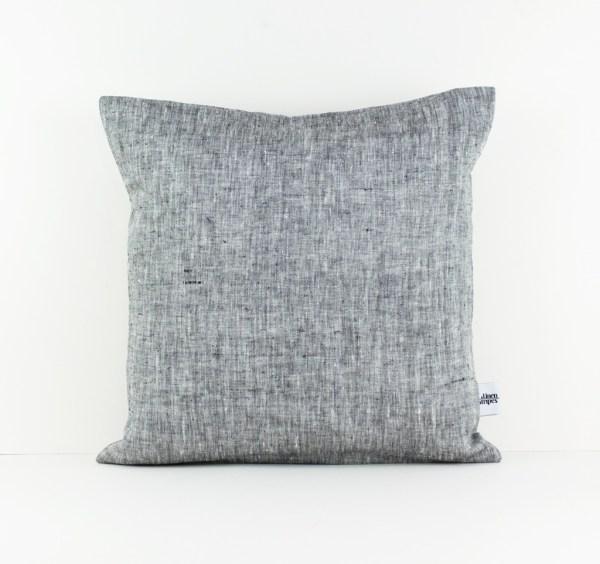 Grey Europe pillow case Grey linen pillow Gray pillow Euro sham Grey throw pillow Decorative pillows for bed European pillow case 1
