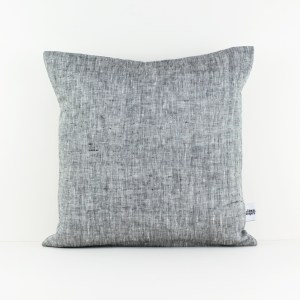 Grey Europe pillow case Grey linen pillow Gray pillow Euro sham Grey throw pillow Decorative pillows for bed European pillow case 1