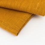 linen and stripes napkin mustard2