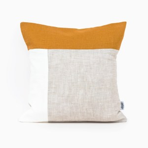 mustar plain geometric linen and stripes1
