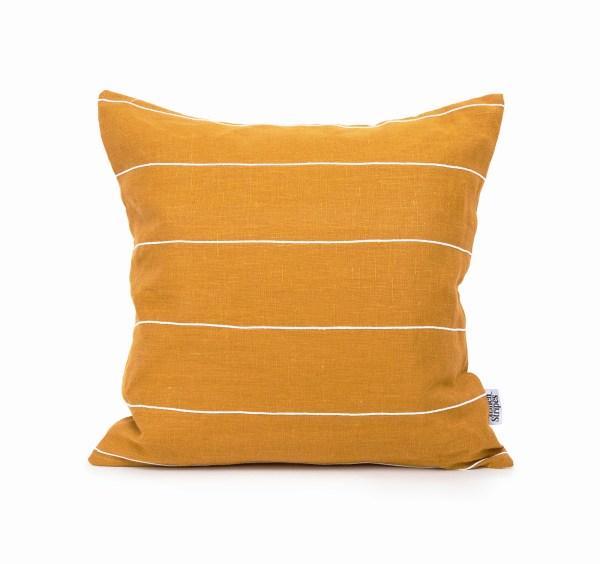 Mustard white cotton line1