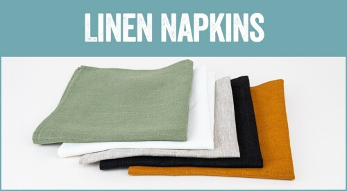 linen and stripes category linen napkins