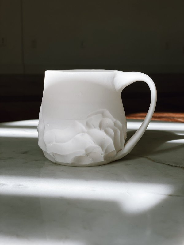 Estes Ceramics - Porcelain Mountain Mug