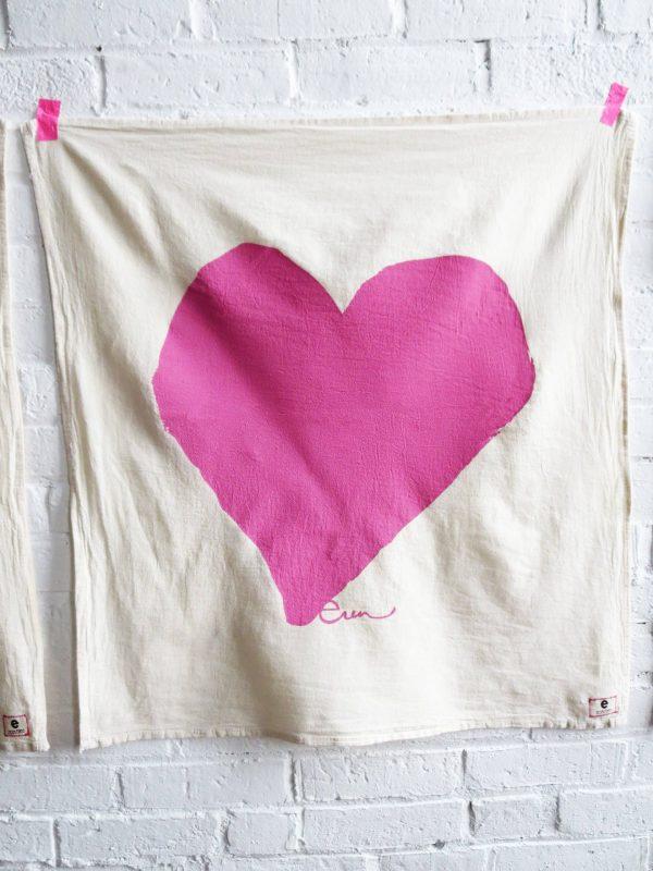 Erin Flett - Heart Tea Towel