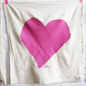 Erin Flett - Heart Tea Towel