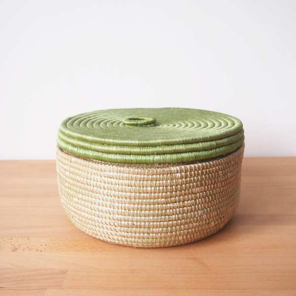 Amsha - Prickly Pear Chapati Basket
