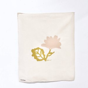 Erin Flett - Dusty Pink Flower Tea Towel