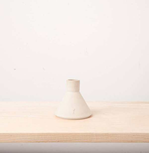L'Impatience - Taper candle holders - White