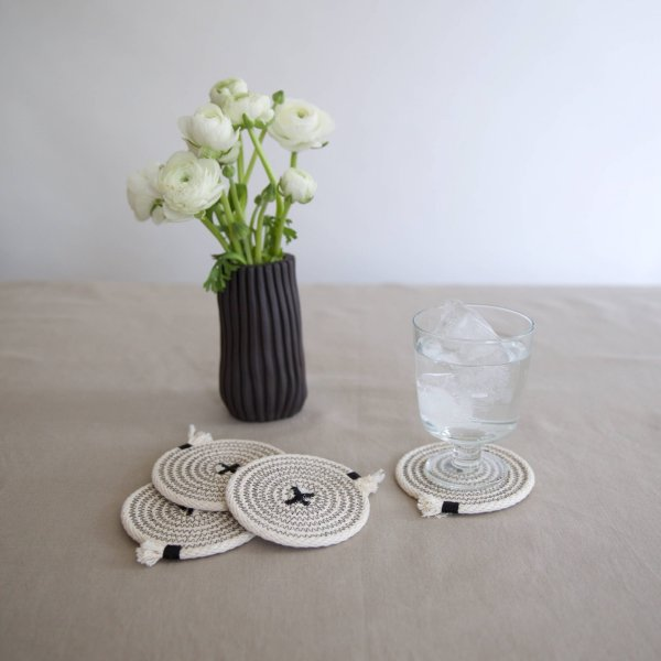 Brklyn Home - Coasters set of 4