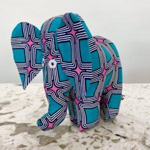 Amsha - Safari Animals: Retro Elephant