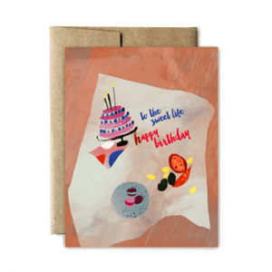 Ferme à Papier - Sweet Life Birthday Card