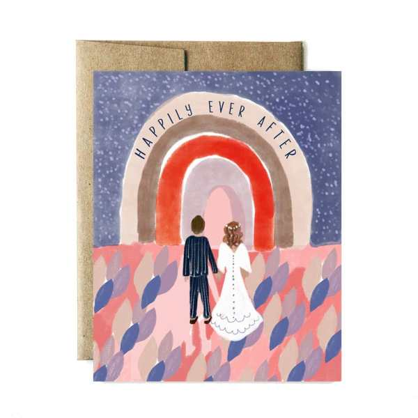 Ferme à Papier - Ever After Wedding Card