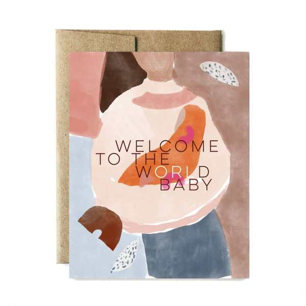 Ferme à Papier - World Welcome Baby Card