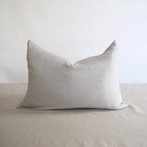 Brklyn Home - Lumber Washed Linen Pillow