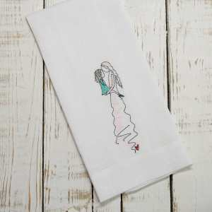 Crown Linen Designs - Mother and Daughter Towel