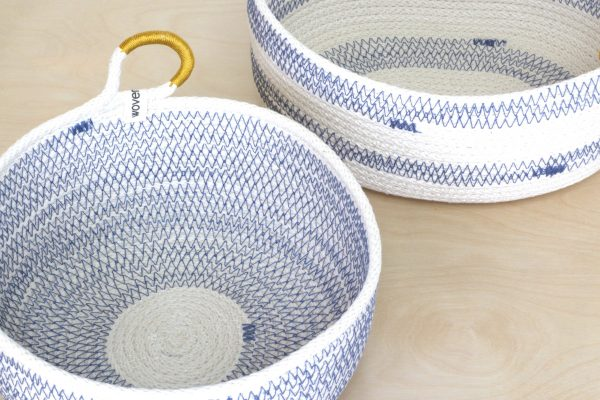 Woven Grey - Coastal Collection Baskets