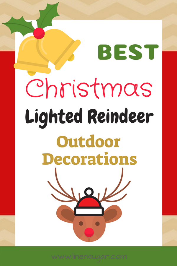 Best Lighted Reindeer Family Set Of 3