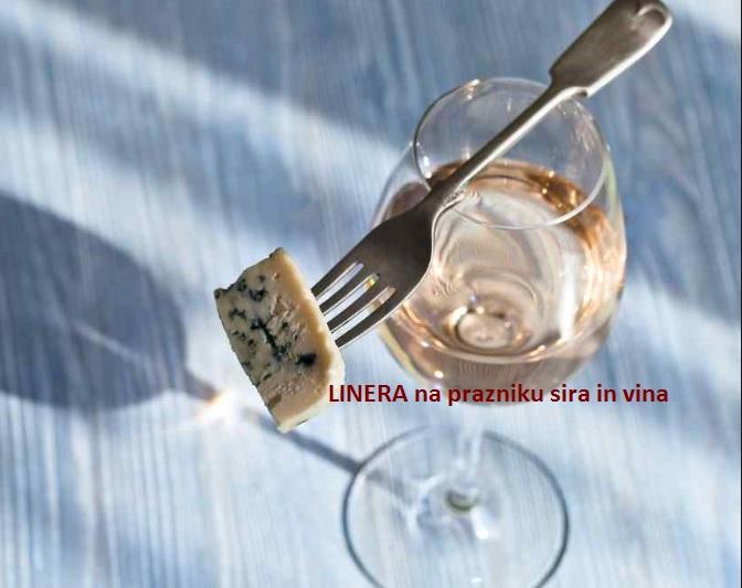 Linerino slovo od poletja v družbi sira in vina
