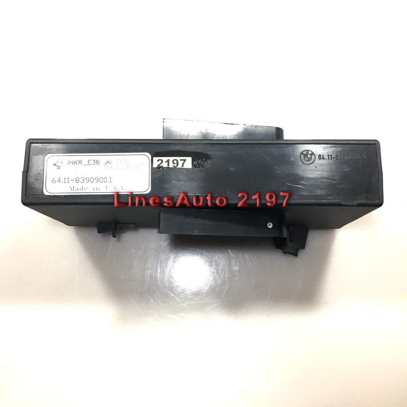 Компютър Модул за BMW IHKR_E36 HW 01 sw 10 UNITED TECHOLOGIES AUTOMOTIVE 601-0720-001 8390902.9 64.11-8390900.1