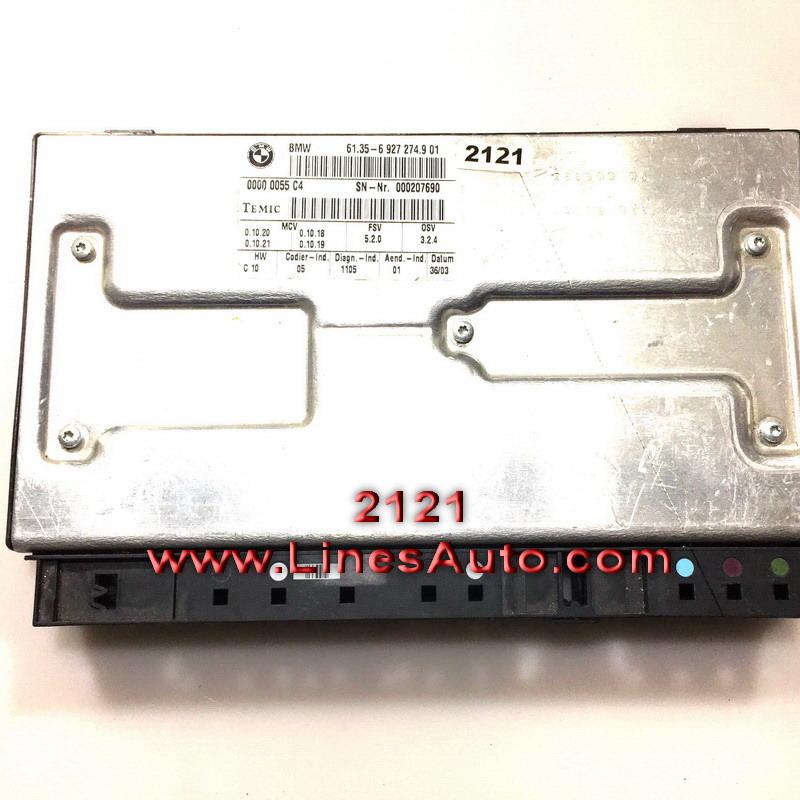 Модул седалка за БМВ Е65 Е66 61356927266 control unit modu