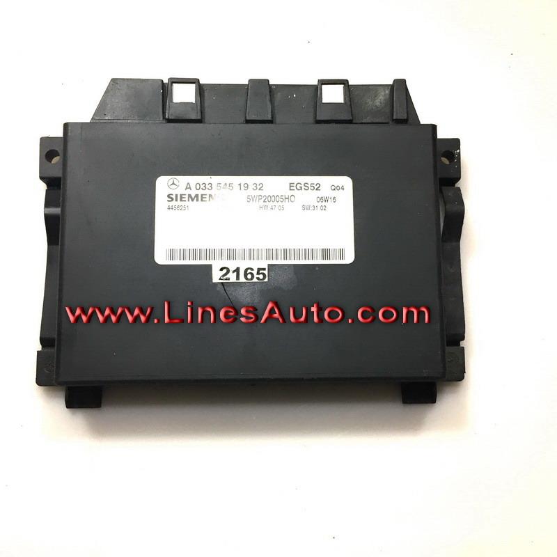 A 0335451932 EGS52 Q04 Siemens 5wp2005h0 06w16 4456251 MERCEDES W220 S400