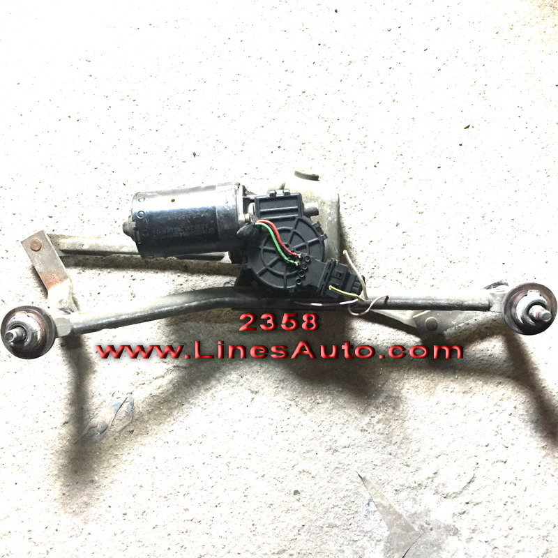 Моторче Предни Чистачки за Peugeot 206 BOSCH 3397020446