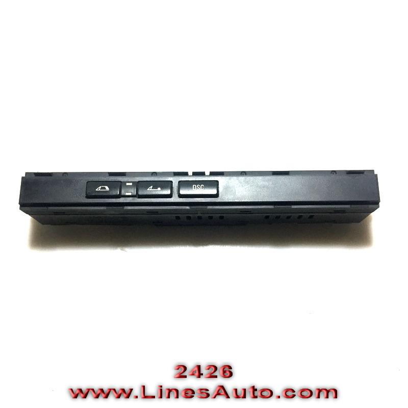 panel kopcheta kabrio bmw e46 dsc