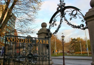 Amsterdam: A morning in Vondelpark