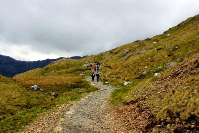 Pyg Track, Mount Snowdon climb