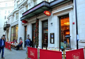 Brasserie Zedel: Old-school glamour in London's theatreland