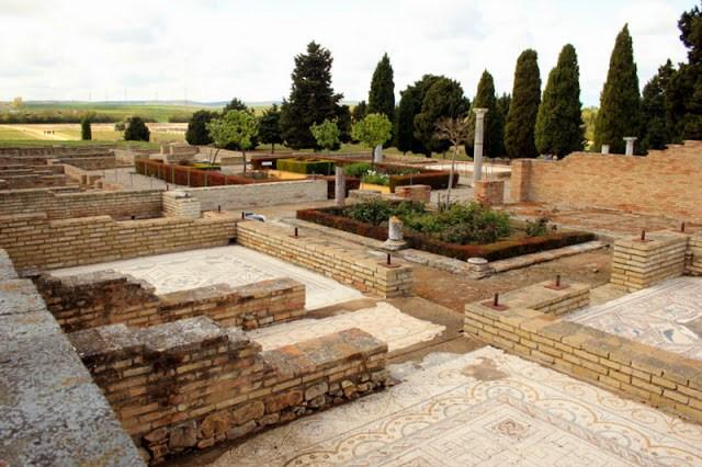 Mosaics at Italica