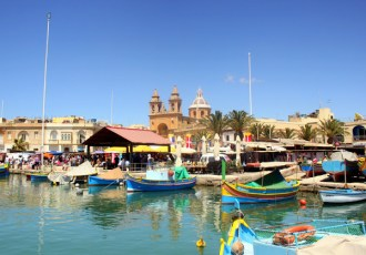 Market day at Marsaxlokk