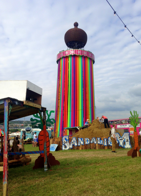 Sandalism Glastonbury