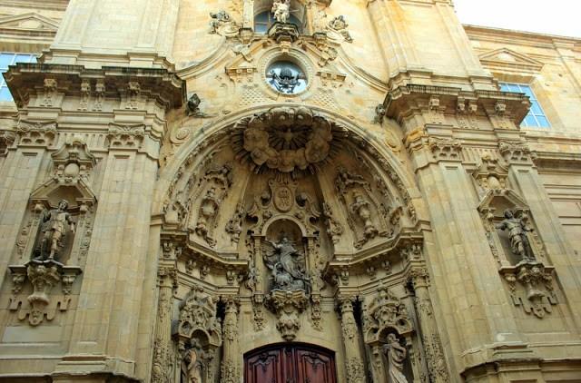 Exterior of Iglesia de Santa Maria