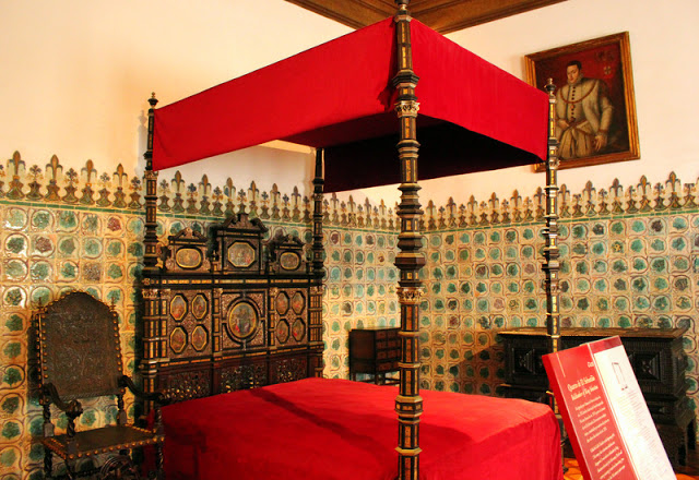 Bedroom, Sintra National Palace