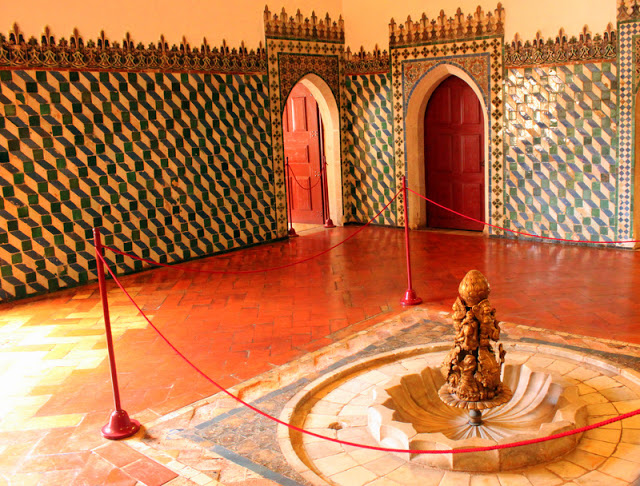 Moorish room, Sintra National Palace
