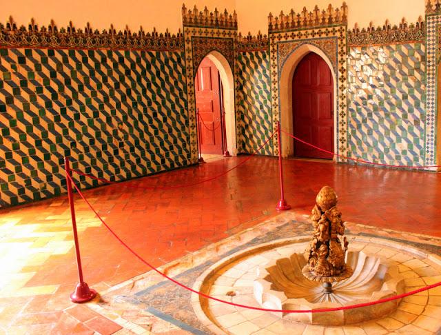 Moorish room, Sintra National Palace
