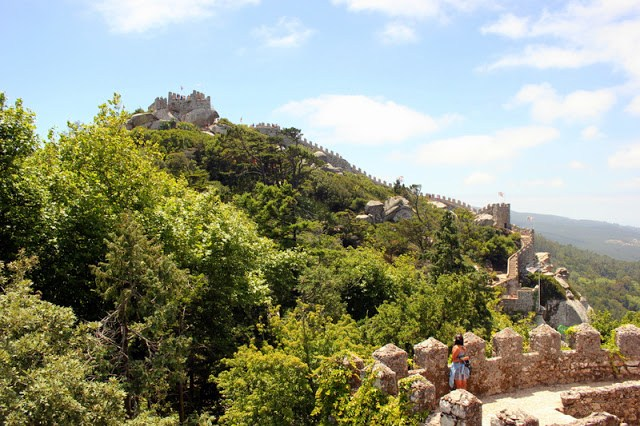 View over the Moorish Castle