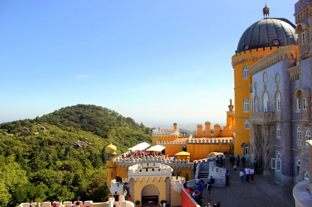 View from Pena National Palace