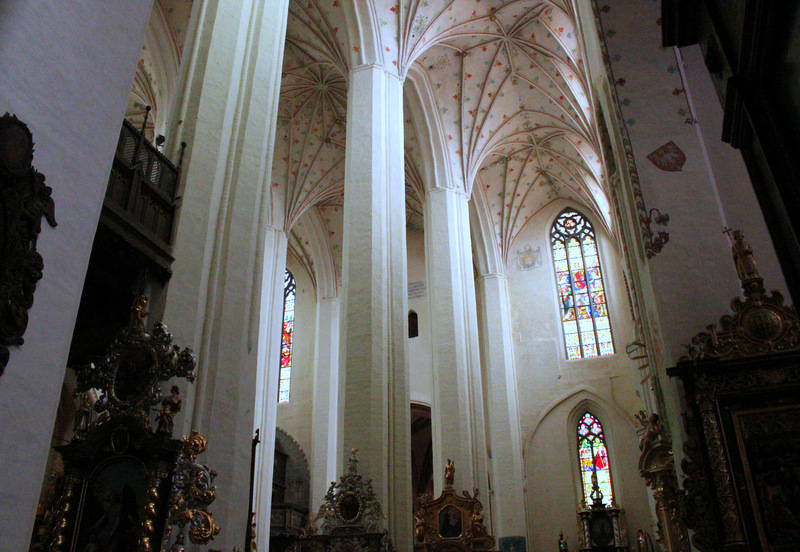 Interior of Torun Cathedral