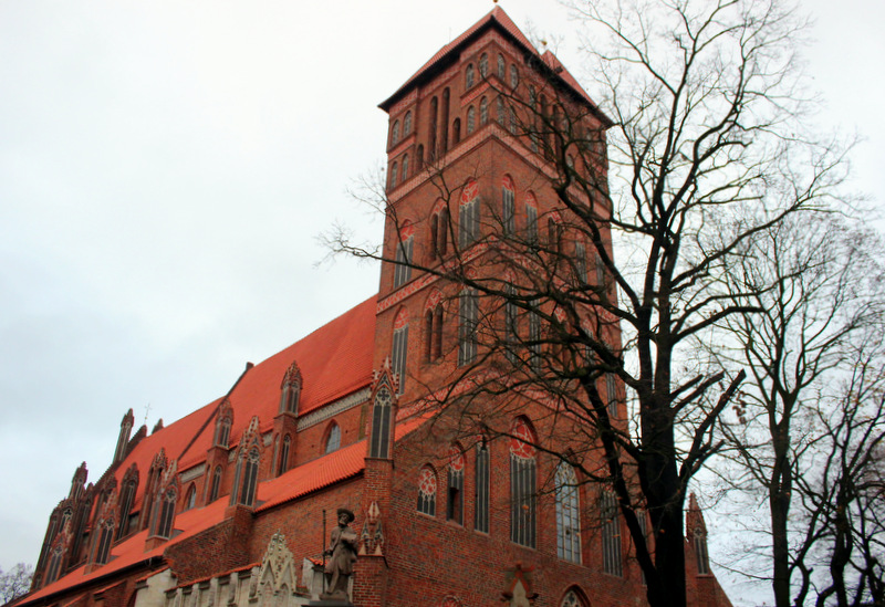 One of Torun's medieval churches