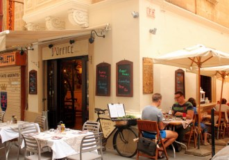 Our favourite restaurant in Valletta: D'Office