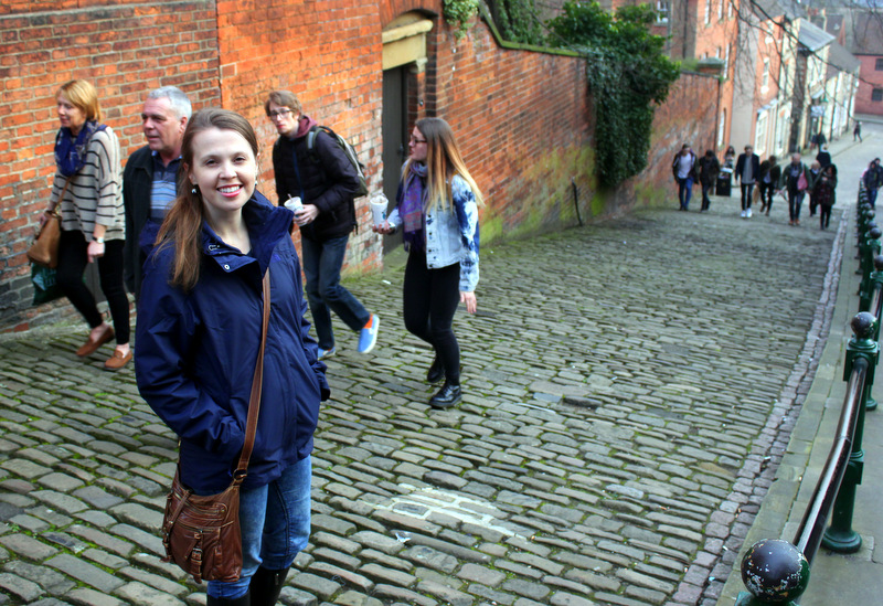 At Steep Hill, Lincoln