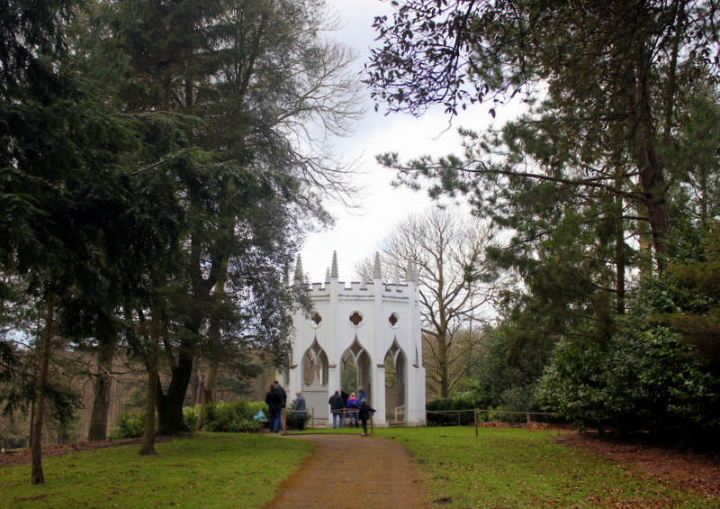 Gothic Temple at Painshill Park