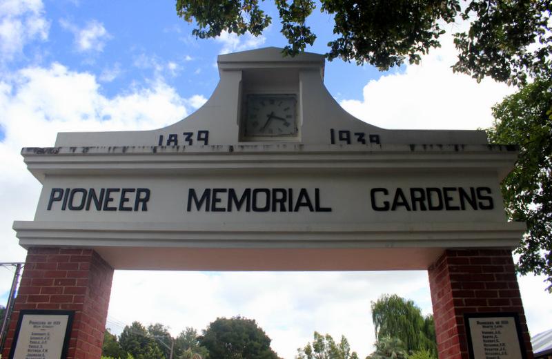 Hahndorf Pioneer Memorial Garden