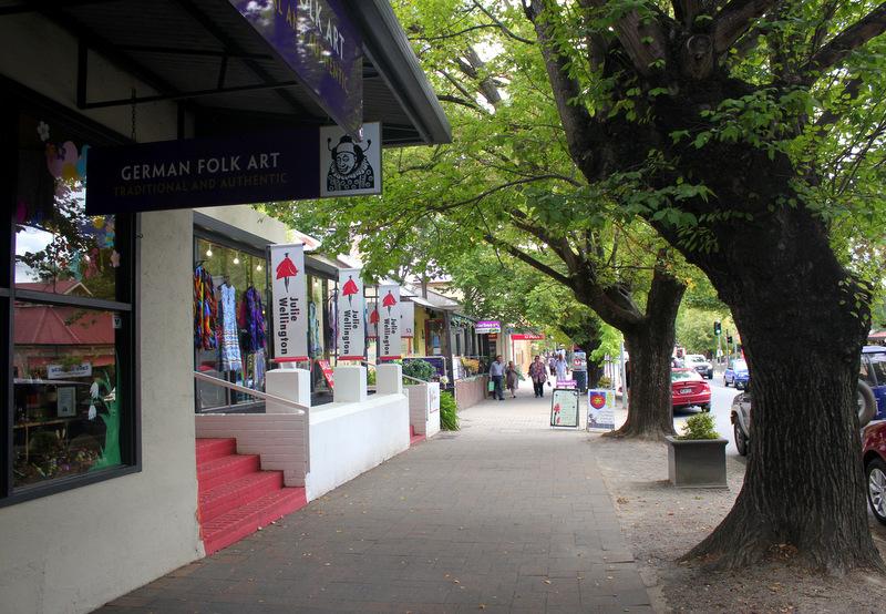 Hahndorf main street