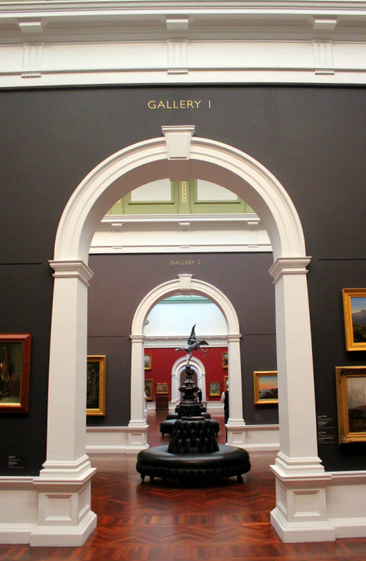 Inside the Art Gallery of South Australia