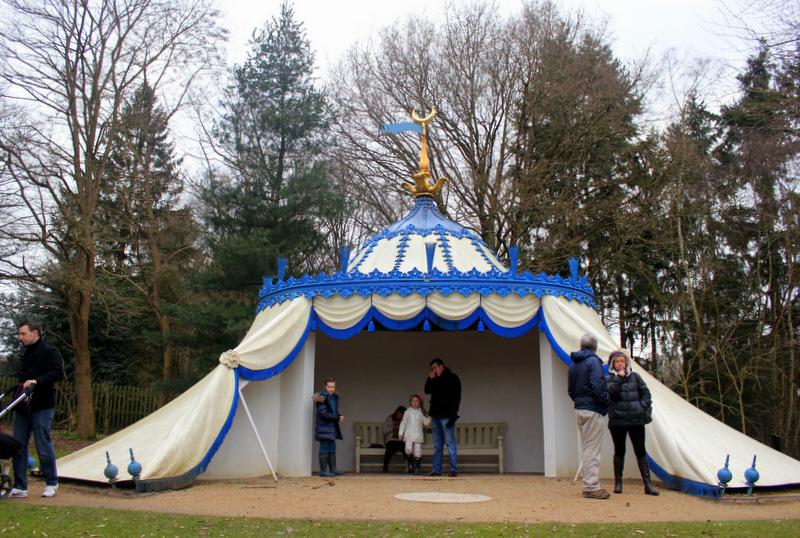 Turkish Tent, Painshill Park