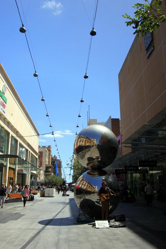 Mall's Balls, Adelaide